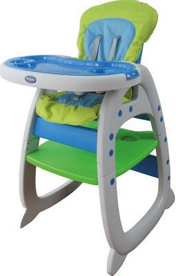 Стульчик для кормления Baby Care O-ZONE Green коляска baby care jogger cruze green