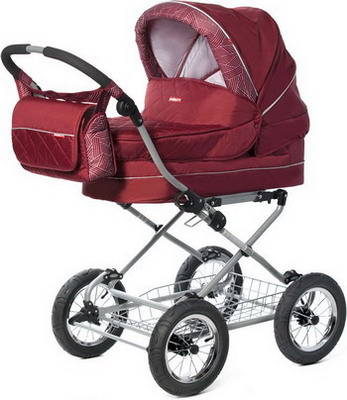 Коляска Happy Baby Amalfy GB-6628 Bordo манеж happy baby amalfy hb 8090 coral