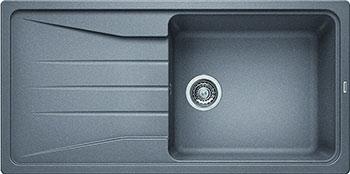 Кухонная мойка BLANCO SONA XL 6S SILGRANIT алюметаллик кухонная мойка blanco sona 5s silgranit шампань