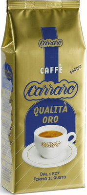 Кофе зерновой Carraro Qualita Oro 0.5кг carraro qualita oro 500 гр