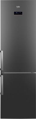 Двухкамерный холодильник Beko RCNK 321 E 21 A двухкамерный холодильник beko rcne 520 e 21 zx