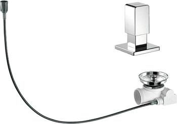 Набор доукомлектации клапаном-автоматом BLANCO 517547 ручка управления levos chrome 221901 blanco