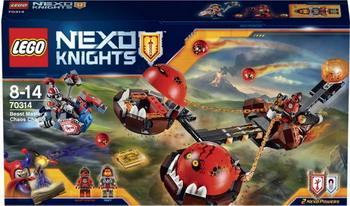 Конструктор Lego Nexo Knights Безумная колесница Укротителя 70314 lepin nexo knights axl glob lobber combination marvel building blocks kits toys minifigures compatible legoe nexus