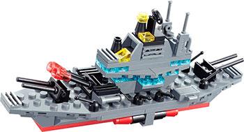 Конструктор Город Игр Военные маневры Авианосец XL GI-6288 снежкодел город игр гранато леп gi 6549