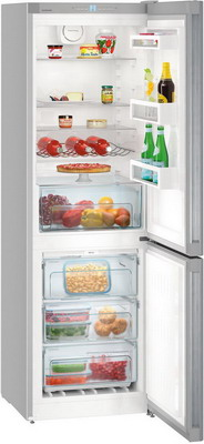 Двухкамерный холодильник Liebherr CNPel 4313 двухкамерный холодильник liebherr cnpes 4358