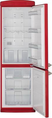 Двухкамерный холодильник Schaub Lorenz SLUS 335 R2 ярко-красный  цена и фото
