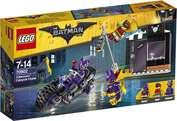 Конструктор Lego BATMAN MOVIE Погоня за женщиной-кошкой 70902 lepin new 460pcs 07051 batman movie series the killer crocodile tail gator 70907 building blocks bricks educational toys