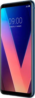 Мобильный телефон LG V 30+ синий a new 9 0 inch lcd screen for a090vw01 v3 v 3 tablet pc gps display panel repair replacement