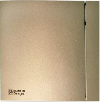 Вытяжной вентилятор Soler amp Palau Silent-100 CZ Design 4C (шампань) 03-0103-135 soler and palau silent 100 cz design 3с