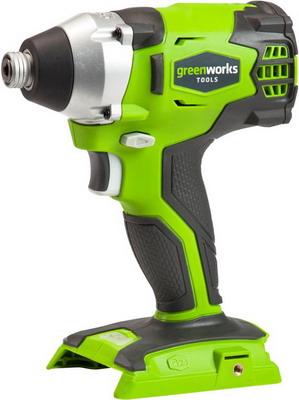 Шуруповерт Greenworks GD 24 ID 3801407 аккумуляторная ударная дрель шуруповерт greenworks gd24id 3801407