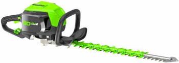 Аккумуляторный кусторез Greenworks 80 V Digi-Pro GD 80 HT без аккумулятора и зарядного устройства 2200607 аккумуляторная цепная пила greenworks 80v digi pro gdcs50 без аккумулятора и зарядного устройства