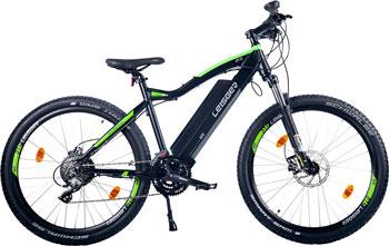 Велогибрид LEISGER MI5 NEW 2018 black/green 17090 21 5 221b7qpjkeb 00 black с поворотом экрана