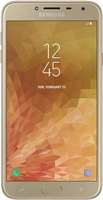 Смартфон Samsung Galaxy J4 (2018) SM-J 400 F золотой цена и фото