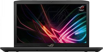 Ноутбук ASUS GL 703 VD-GC 121 (90 NB0GM2-M 02240) Black Metal ноутбук asus gl 753 ve gc 247 90 nb0dn2 m 04060