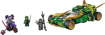 Конструктор Lego Ночной вездеход ниндзя Ninjago 70641 конструктор lego земляной бур коула 70669 ninjago legacy