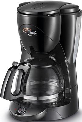 Кофеварка DeLonghi ICM2.1B кофеварка delonghi en 500 коричневый