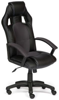 Кресло Tetchair DRIVER (кож/зам/ткань черный/серый 36-6/12) кресло tetchair driver кож зам ткань черный бордо 36 6 13
