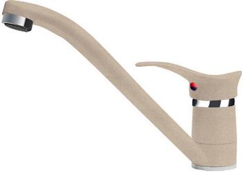 Кухонный смеситель Florentina FL-01 Гамма песочный смеситель для мойки коллекция vincent 31144 2 однорычажный песочный черный kaiser кайзер