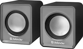 Акустическая система 2.0 Defender SPK 22 серый 65504 акустическая система 2 0 defender spk 260 65226