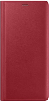 Чехол (флип-кейс) Samsung Note 9 ( 960) LeatherWallet red EF-WN  LREGRU