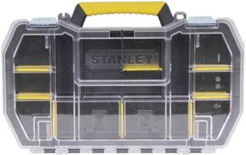 Органайзер Stanley с метал. замками 24'' STST1-79203 1-79-203 ящик для инструменов stanley серия jumbo 19 с метал замками