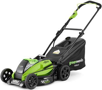 Колесная газонокосилка Greenworks GD 40 LM 45 K3 2500407 UE