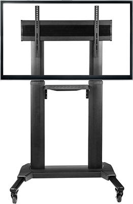 Мобильная стойка для презентаций ONKRON TS 2771 чёрная стойка для одежды artmoon sam мобильная цвет черный хром