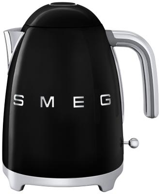 Чайник электрический Smeg KLF 01 BLEU чёрный тостер smeg tsf02pkeu