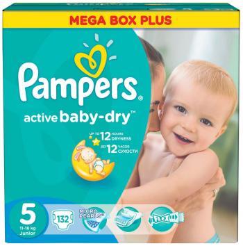 Подгузники Pampers Active Baby-Dry 11-18 кг 5 размер 132 шт active мезороллер mt05 0 5 мм active 12001 1 шт