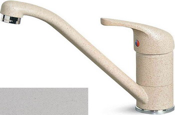 Кухонный смеситель Elleci MINERVA metaltek (79) aluminium MMKMIN 79