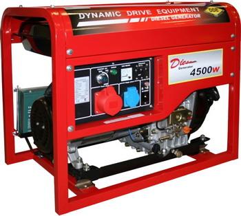 Электрический генератор и электростанция DDE DDG 6000-3E головка триммернаяwind 3 dde 640 117