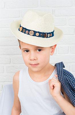 купить Шляпка Vintage Ветер странствий молочный по цене 706 рублей