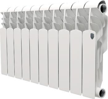 Водяной радиатор отопления Royal Thermo Vittoria 350 - 10 секц. водяной радиатор отопления royal thermo revolution bimetall 350 8 секц