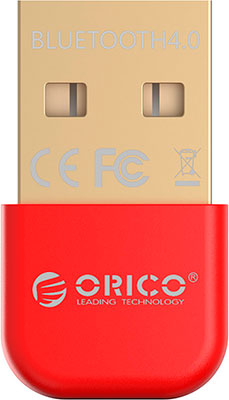 Bluetooth-адаптер Orico BTA-403 (красный) orico bta 403 red bluetooth адаптер