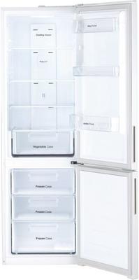 Двухкамерный холодильник Daewoo Electronics RNV 3310 GCHW белое стекло