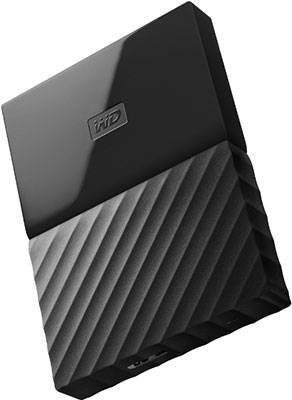 Внешний жесткий диск (HDD) Western Digital Original USB 3.0 1Tb WDBBEX 0010 BBK-EEUE My Passport 2.5'' черный new original my tqm616020