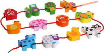 Бусины Bondibon Веселая Ферма ВВ1109-1 barneybuddy barneybuddy игрушки для ванны стикеры веселая ферма