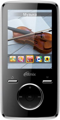 MP3 плеер Ritmix RF-7650 16 Gb Black ritmix rf 1010 blue