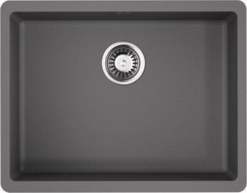 Кухонная мойка OMOIKIRI Kata 54-U-GR Artgranit/Leningrad Grey (4993411) смеситель для кухни omoikiri shinagawa gr 4994160 leningrad grey