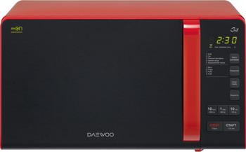 Микроволновая печь - СВЧ Daewoo KQG 663 R микроволновая печь с грилем daewoo kqg 663b