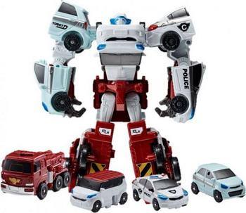 Трансформер Tobot КВАТРАН 301057 игрушки для детей