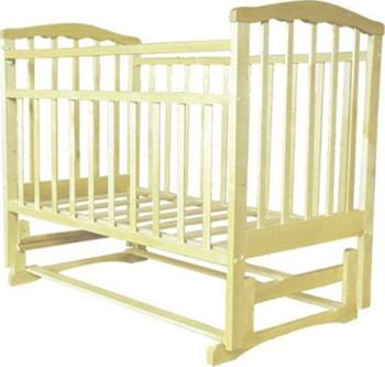 Детская кроватка Агат ''Золушка-5'' 120*60 классическая  маятник продольный  Слоновая кость обычная кроватка агат 52105 золушка 4 слоновая кость