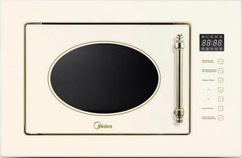 Встраиваемая микроволновая печь СВЧ Midea MI 9255 RGI-B микроволновая печь bbk 23mws 927m w 900 вт белый