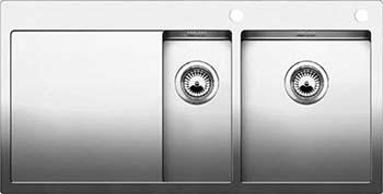 Кухонная мойка BLANCO CLARON 6S-IF/А (чаша справа) нерж. сталь зеркальная полировка 521645 кухонная мойка blanco axis iii 6s if чаша слева нерж сталь зеркальная полировка с кл авт 522105
