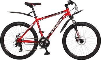 цена Велосипед Stinger 26'' Aragon 16'' красный 26 SHD.ARAGON.16 RD7