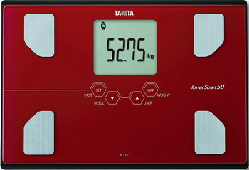Весы напольные TANITA BC-313 Red весы напольные tanita bc 313 w