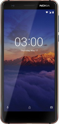 Смартфон Nokia 3.1 Dual Sim синий crazy selling baanool car gps tracker tk105b sms gsm gprs vehicle tracking device remote control with dual sim free shipping