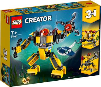 Конструктор Lego Робот для подводных исследований 31090 Creator 3 in 1 f17168 3 in 1 signal loss alarm