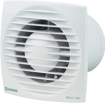 Вытяжной вентилятор BLAUBERG Bravo 100 S белый