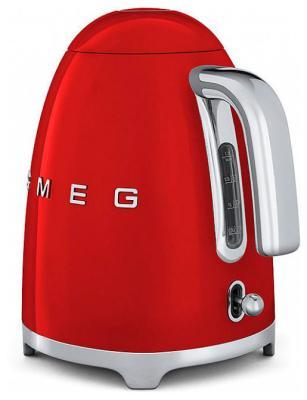 Чайник электрический Smeg KLF 01 RDEU красный тостер smeg tsf 02 rdeu красный
